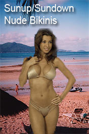 Image of sexy nude bikinis from  Academic Superstore catalog