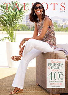 Picture of talbots catalog from Talbots catalog