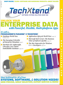 Picture of IT software from TechXtend Business catalog