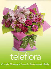 Picture of teleflora flowers from Teleflora catalog