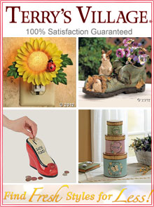 Picture Of Country Home Decor From Terryu0027s Village Catalog