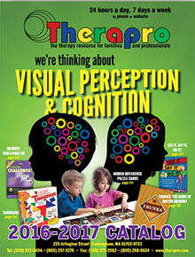 Picture of how to develop and improve fine motor skills from Therapro catalog