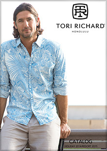 Picture of tori richard shirts from Tori Richard catalog