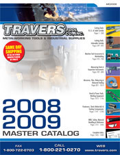 Picture of metalworking tools from Travers Tools catalog