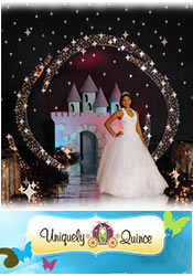 Image of quinceanera theme ideas from Uniquely Quince catalog