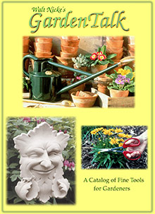 Picture of garden catalogs from Walt Nicke catalog