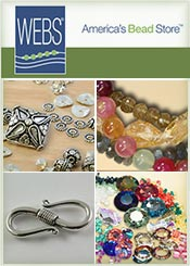 Picture of bead jewelry supplies from WEBS America's Bead Store catalog