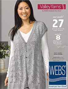 Picture of knitting yarn from Webs catalog