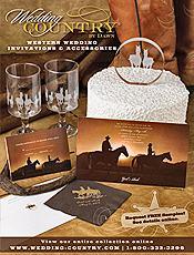 Western wedding invitations & Outdoor wedding decorations
