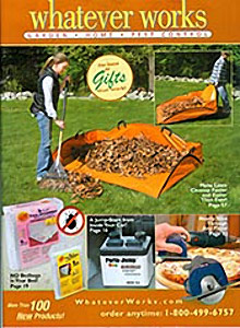 Image of backyard bird supplies from Whatever Works catalog