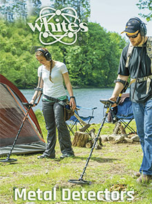 Picture of best metal detectors from White's catalog