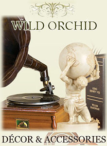 Picture of decorative home accents from Wild Orchid catalog