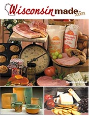 Picture of Wisconsin cheese gifts from Wisconsin Made catalog