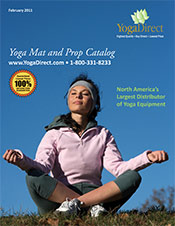 Picture of best yoga mats from Yoga Direct  catalog