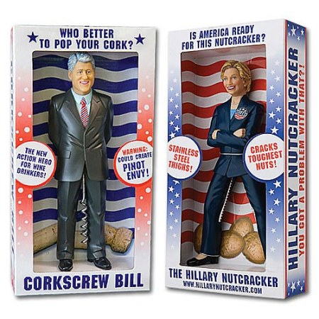 Bill and Hillary Clinton Gift Set