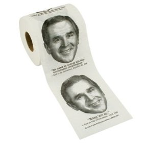 George Bush Toilet Paper