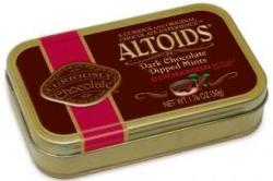chocolate covered altoids