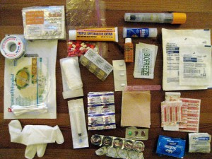 Forgetting a first aid kit is one of the top ten novice hiking mistakes