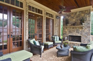 Create an outdoor living room as a huge spring home improvement project