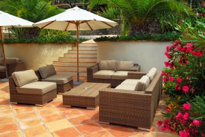 Create a backyard oasis as a spring home improvement project