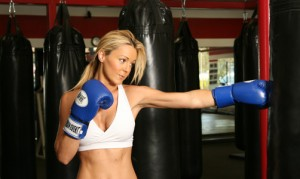 Get into boxing as one of the top ten ways to get in shape for spring sports