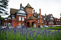 Private estates and castles are in the top ten most romantic reception venues