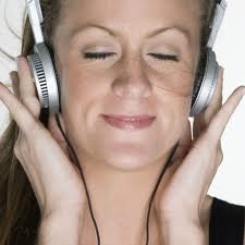 Listening to peaceful music is a way to center yourself
