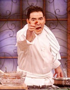 Every 20 year old should know how to cook ... like Emeril