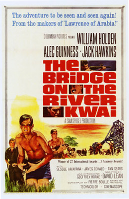 Bridge on the River Kwai is on the list of top ten movies