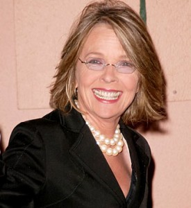 Diane Keaton is young a heart which is a great tip for staying young.