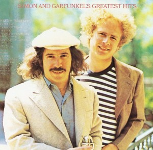 Simon and Garfunkel are in the list of top folk music artists