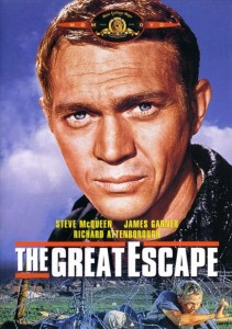 The Great Escape is on the list of the top ten war movies