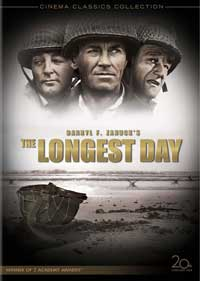 The Longest Day is on the list of the top ten war movies