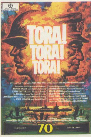 Tora! Tora! Tora! is on the list of the top ten war movies