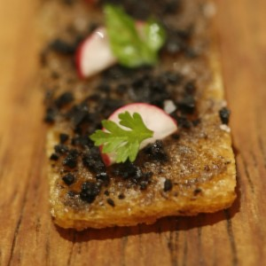 Simple toast can become an extravagant truffle recipe