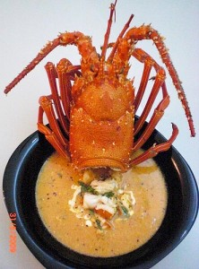 Lobster bisque is high on the list of the top ten lobster tail recipes