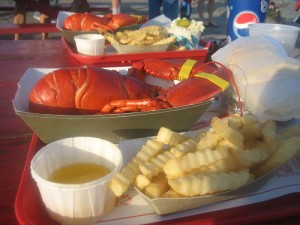 Steamed lobster and fries is one of the top ten lobster tail recipes