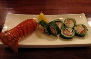 Cucumber tempura lobster is one of the top ten lobster tail recipes
