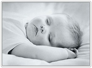 A tip to stay younger is to try to sleep like a baby.