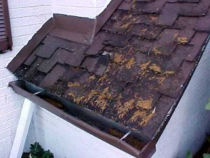 A bad roof is a home inspection nightmare