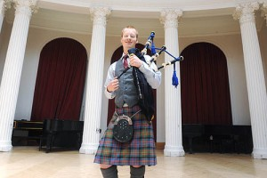 Bagpipe is one of the top ten unusual college majors