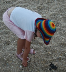 Go beachcombing for a great kids spring break activity