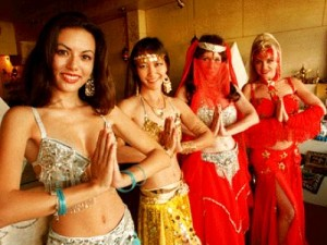 Belly dancing is a great spring fitness tip