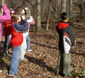 Birdwatching is one of the top ten kids spring break activities
