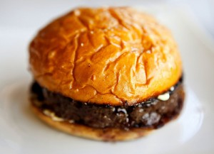 A truffle burger is an extravagant truffle recipe