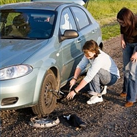Every 20 year old should know how to change a flat tire