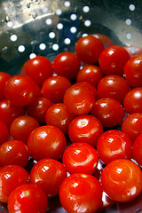 Cherry tomatoes are used in many of the easiest hors d'oeuvres
