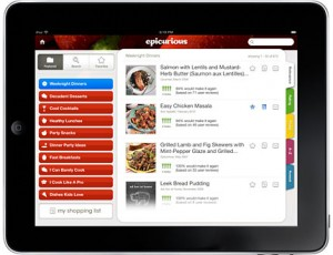 Give mom an iPad 2 with cooking apps downloaded for mother's day