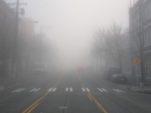 Fog is one of the top ten cool photos of the weather