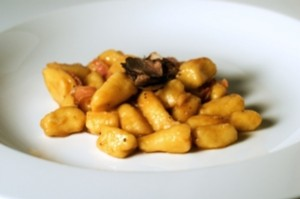 Combine gnocchi and truffles in an extravagant recipe